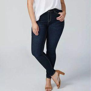 Lane Bryant Tighter Tummy Stretch Jeans 16 Long